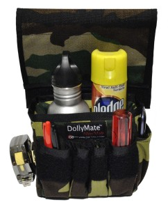 DollyMate- MiniMate Camo Top Flap Loaded